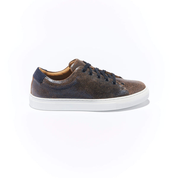 Women's Classic Braga <br/>Navy Blue Vintage Leather