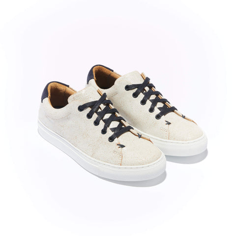 Women's Classic Braga <br/>White Vintage Leather