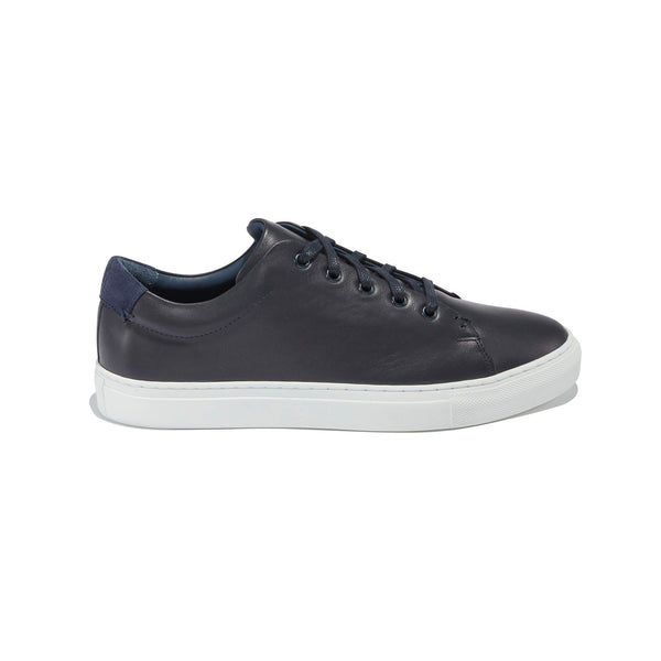 The Braga <br/>Navy Leather