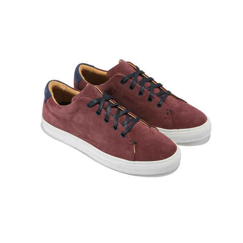 "The Braga <br/>Bordeaux ""Vinho"" Suede"