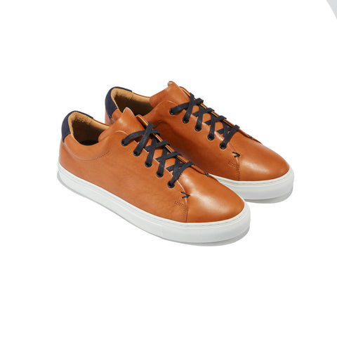 The Braga <br/>Cognac Leather