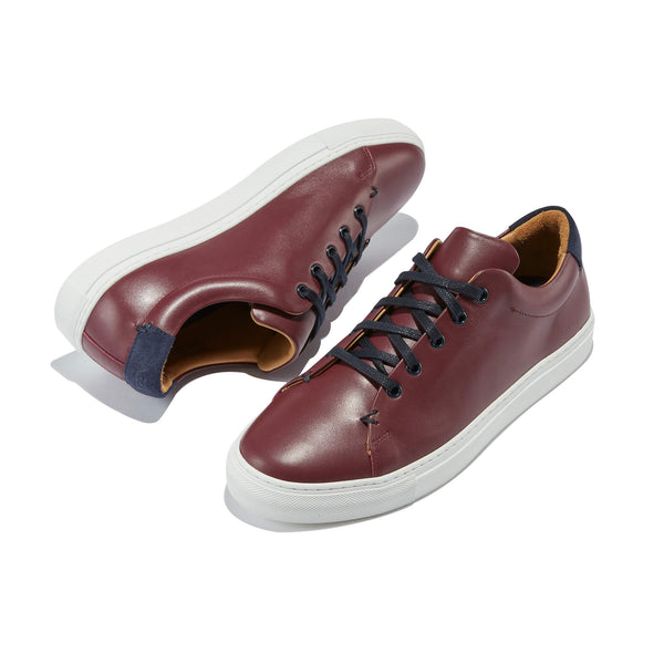 "The Braga <br/>Bordeaux ""Vinho"" Leather"