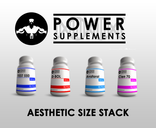 Aesthetic Size Stack - Power-Supplements-UK