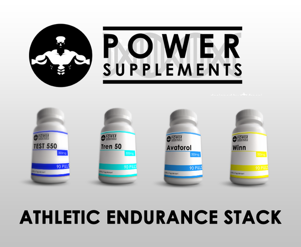 Athletic Endurance Stack - Power-Supplements-UK