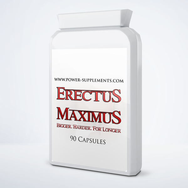 Erectus Maximus - Power-Supplements-UK