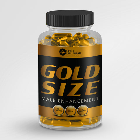 Gold Size - Penis Enlargement Pills