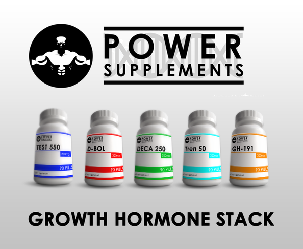 Growth Hormone Stack - Power-Supplements-UK