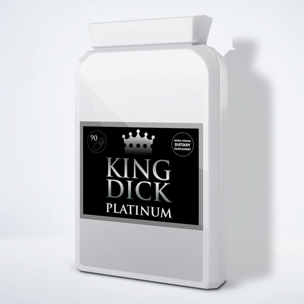 WHOLESALE KING DICK PLATINUM - 10 BOTTLES - Power-Supplements-UK