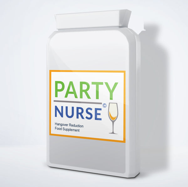 PARTY NURSE - Hangover Reduction Pills - Power-Supplements-UK