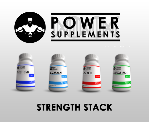 Strength Stack - Power-Supplements-UK