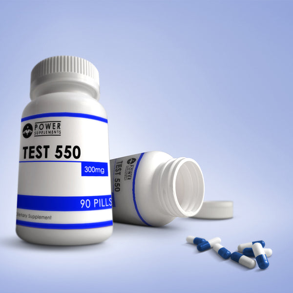 TEST 550 - Power-Supplements-UK
