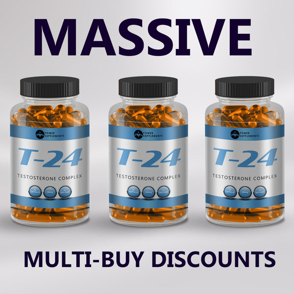 T-24 Anabolic Testosterone Complex - Power-Supplements-UK