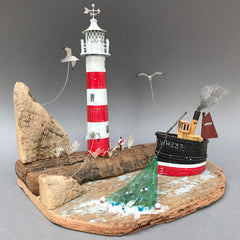 Seth Draper - Lighthouse Sculpture