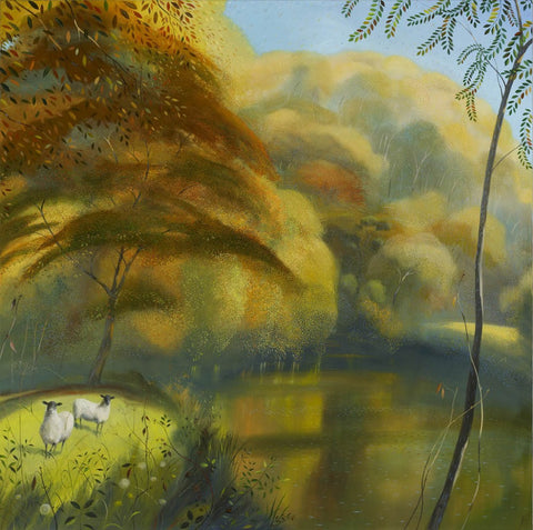 Nicholas Hely Hutchinson - 'Autumn Morning Near Hod Hill'