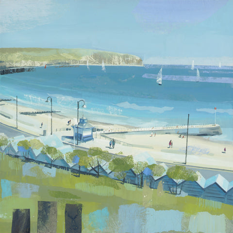 Claire Henley - Across the Bay, Swanage