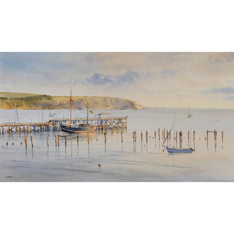 Oliver Pyle - A Tale of Two Piers, Swanage (Original)