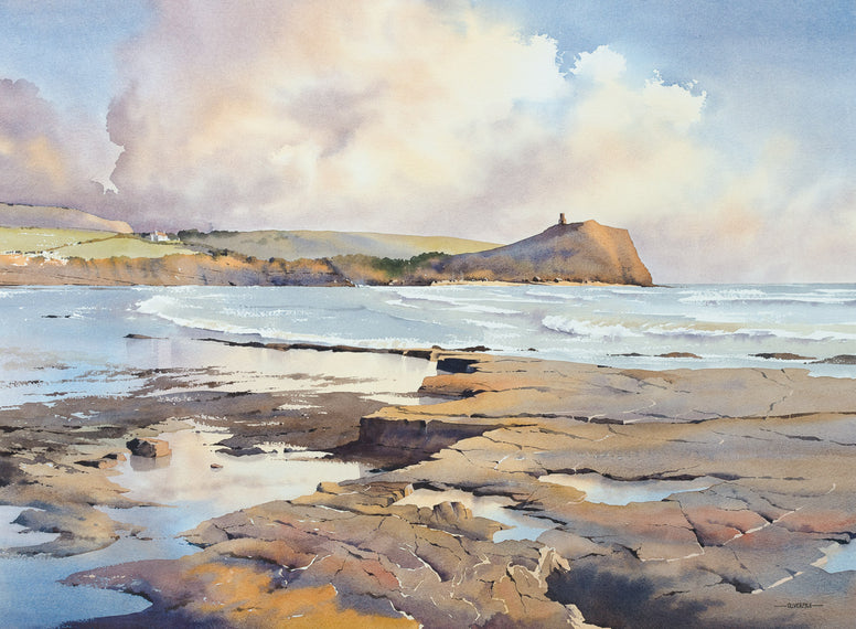 Oliver Pyle - Light on the Ledges, Kimmeridge Bay