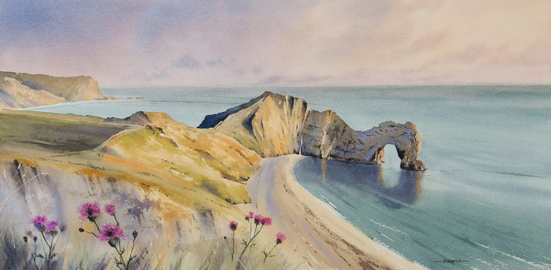 Oliver Pyle - Warm Glow of Evening, Durdle Door