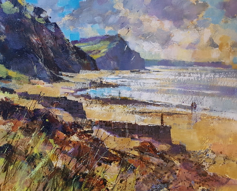 Chris Forsey - Foot of the Cliffs, Charmouth