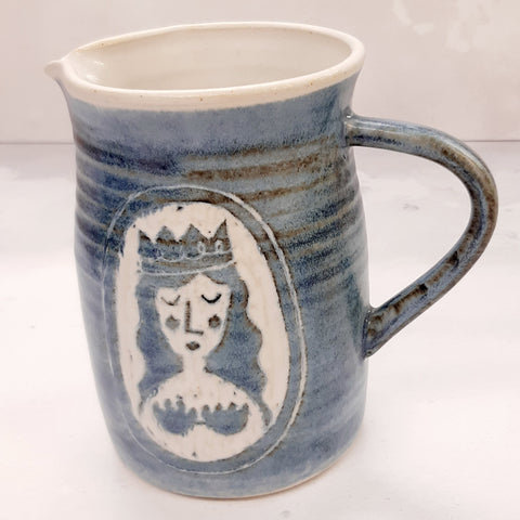 "Laura Lane -""Mermaid of Zennor"" Jug"