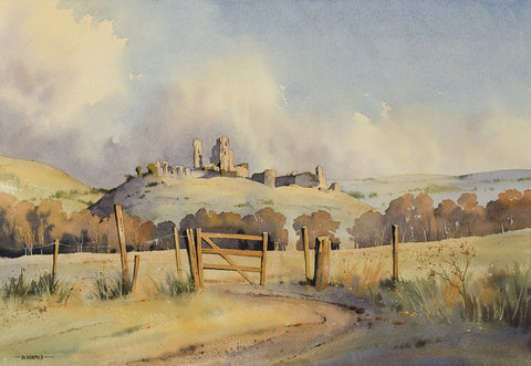 Autumnal Colours, Corfe Castle