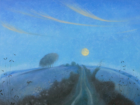 Nicholas Hely Hutchinson - 'The Rising Winter Moon'