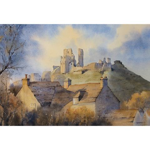 Oliver Pyle - Across the Rooftops, Corfe Castle