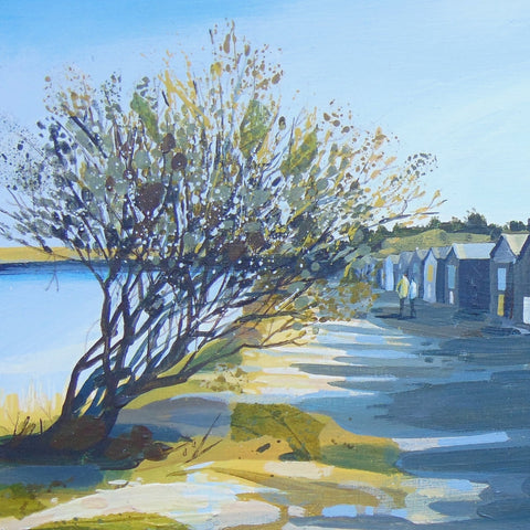 Claire Henley - Autumn Walk, Studland Bay