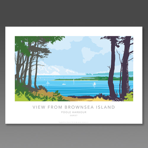 Kevin Williamson - View from Brownsea Island