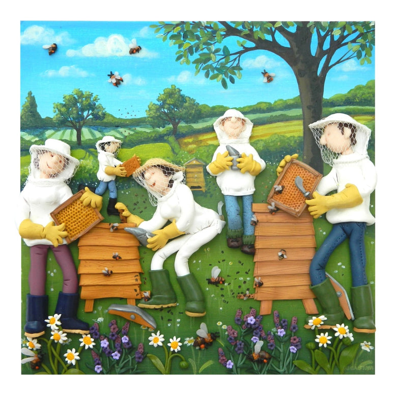Erica Sturla - Beekeepers - Limited edition print