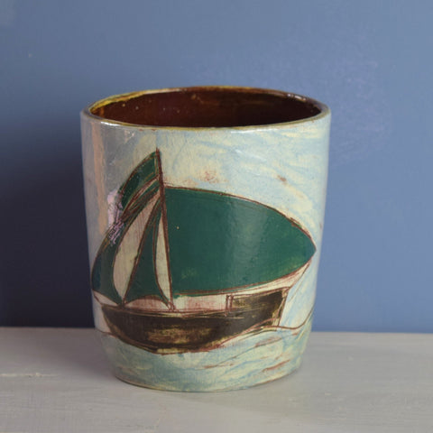 Anne Barrell - Green Sails Rum Cup