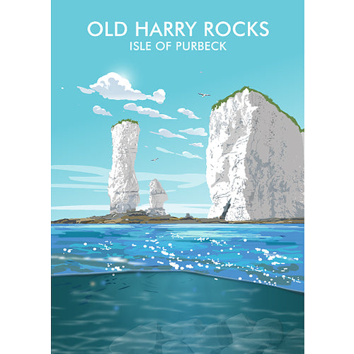 Geraldine Burles - Old Harry Rocks