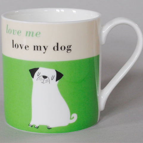 Happiness Pup Mug - Green