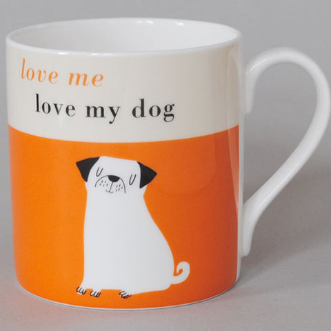 Happiness Pup Mug - Orange