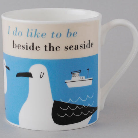 Happiness Seaside Mug - Tuquoise