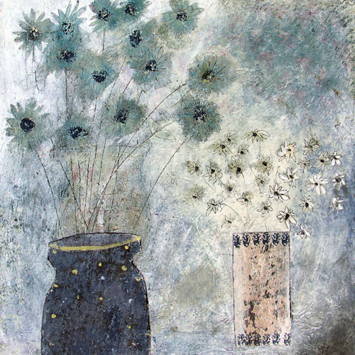 Hannah Hann - Night Window Flowers
