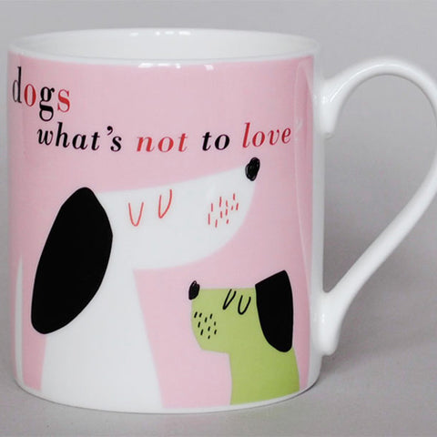 Smile Hounds Mug - Pink