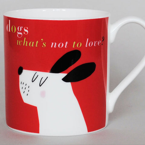Smile Pooch Mug - Red