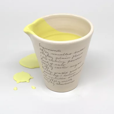 Alice Funge - Handheld Jug - Lemon