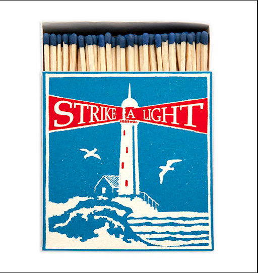 Archivist Press Luxury Matches: Lighthouse