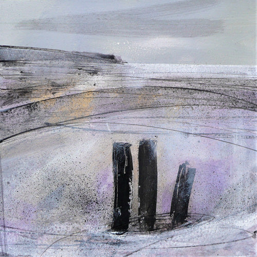 Ruth Taylor - Three Groynes
