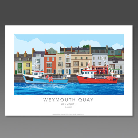 Kevin Williamson - Weymouth Quay