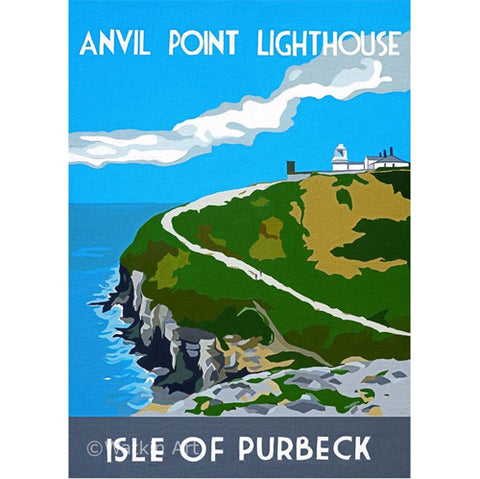 Love Dorset - Anvil Point Lighthouse