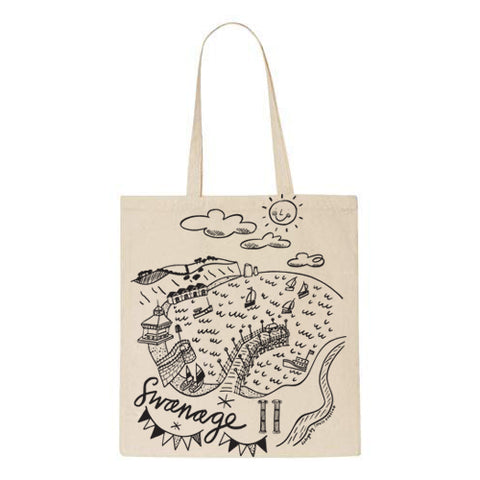 Sophie Harding - Swanage Cotton Tote Bag