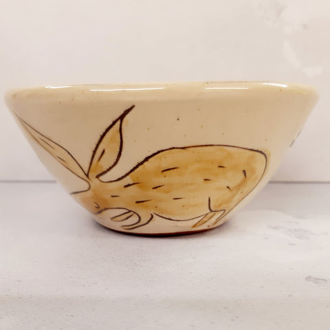 Rosemary Jacks Hare Bowl (small)