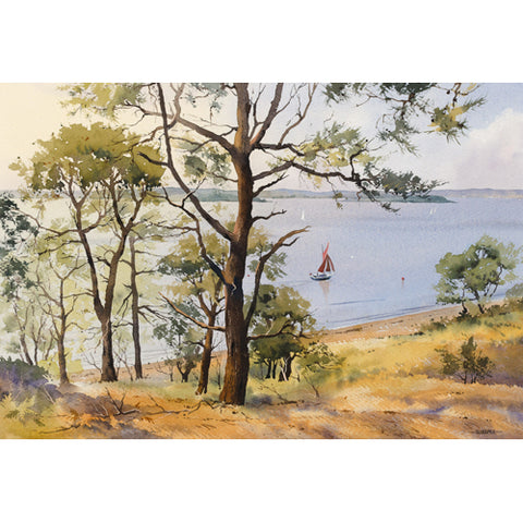 Oliver Pyle - South Shore Views, Brownsea Island (Original)