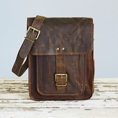 Paper High - Buffalo Leather Messenger Bag