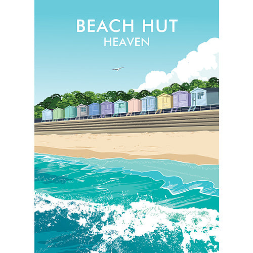 Geraldine Burles - Beach Hut Heaven