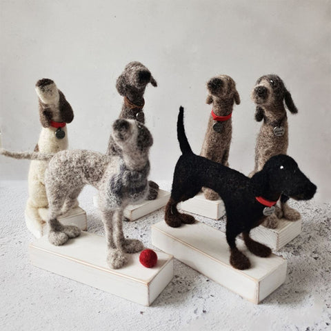 Kate Toms - Felted Dogs