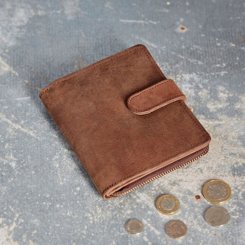Paper High - Buffalo Leather Purse